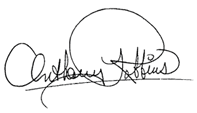 Anthony Robbins signature