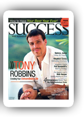 Success Magazine Tony Robbins biography