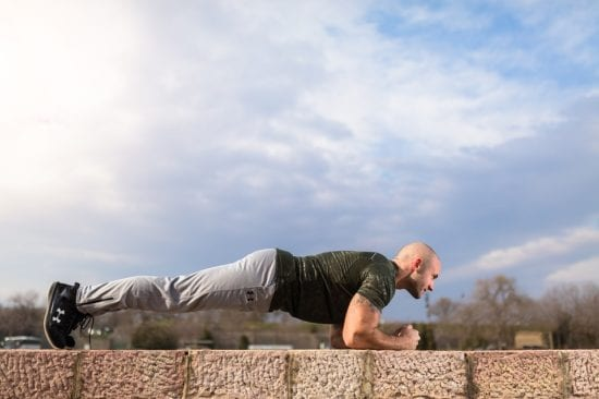 plank for rock hard abs