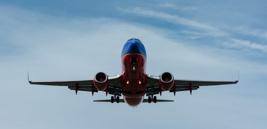 servant leadership southwest airlines plane in air