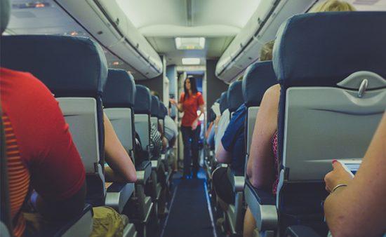 servant leadership people on plane listening to flight attendant