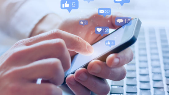 connect with your customers through social media