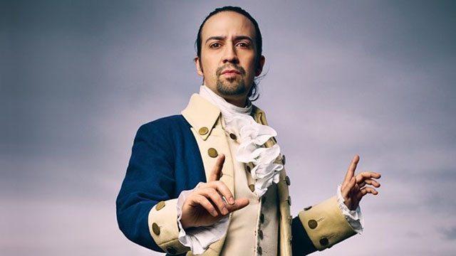 Lin-Manuel Miranda as Hamliton. Photo credit: Mark Seliger for Rolling Stone