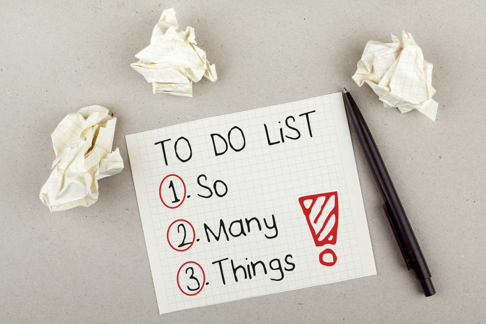 get motivated hand-written note of to do list