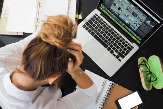 how to alleviate stress at work