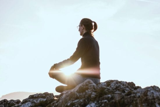 guided meditation for busy woman