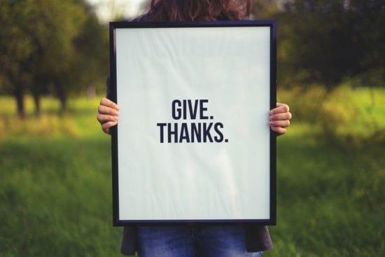 benefits of showing gratitude