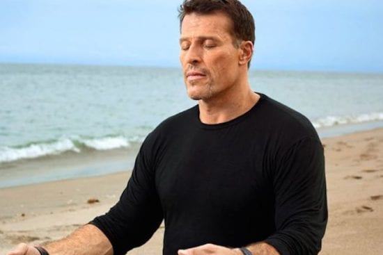 Tony Robbins healthy lifestyle store
