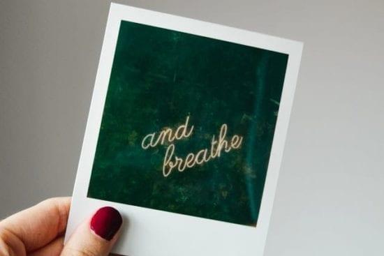 practice proper breathing to improve mental health