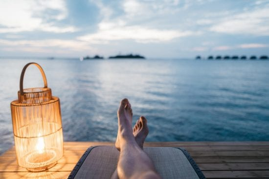 relaxation as a public speaking tip