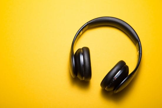listen to upbeat music to feel happy