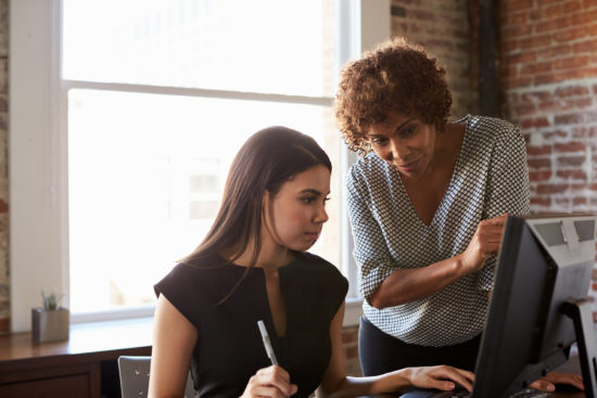 reach out to a mentor to grow your business