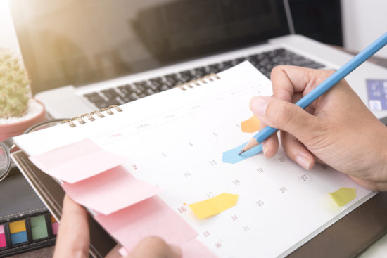 schedule things together to create more time