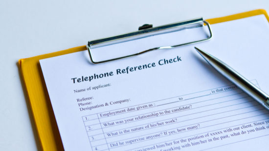 reference interviews