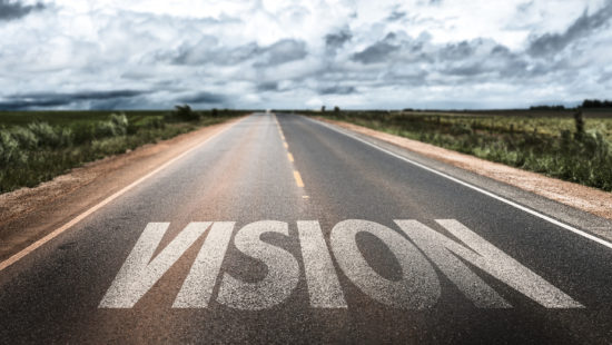 What is vision in leadership